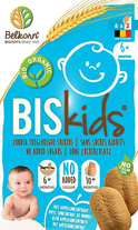 Belkorn Biscuits Babykoekjes BISkids 6 mnd appelsmaak, Bio